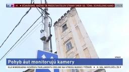 Autá monitorujú kamery, majú pomôcť pri objasňovaní zločinov