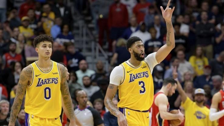 NBA: Davis a LeBron zariadili výhru Lakers, darilo sa aj majstrom