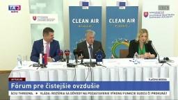 TB L. Sólymosa a K. Vellu o Európskom fóre pre čistejšie ovzdušie
