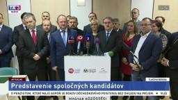 TB Maďarskej komunitnej spolupatričnosti o kandidátnej listine