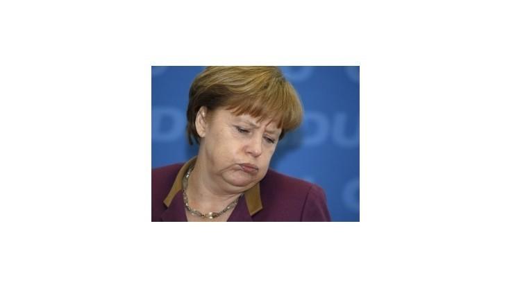 Merkelovej opatrenia proti kríze podporuje tretina Nemcov
