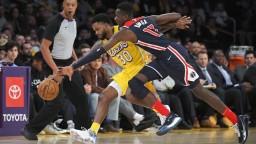 NBA: Lakers majú desiate víťazstvo za sebou, zdolali Washington