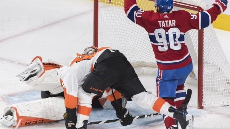 NHL: Tatar dvakrát skóroval, Montreal však natiahol sériu prehier