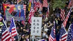 Hongkong ďakuje USA, ľudia v uliciach oslavujú nový zákon o demokracii