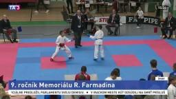 Fanúšikovia karate si víkend užili, konal sa Memoriál R. Farmadina