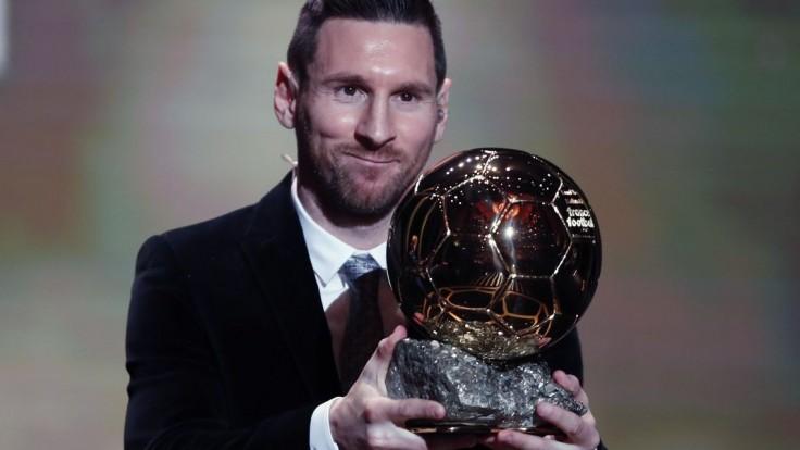 Messimu patrí Zlatá lopta aj tento rok, získal ju po šiestykrát