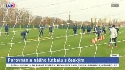 Futbalové legendy o porovnaní nášho futbalu s českým