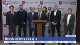 TB poslancov strany SNS o novele zákona o športe