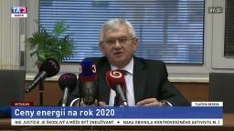Predseda ÚRSO Ľ. Jahnátek o cenách energií na rok 2020