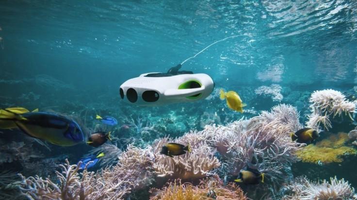 Podvodný dron BW Space Pro získal 4K kameru so 6-násobným priblížením