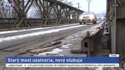 Jediný prístupový most uzatvoria, vodičov čaká obchádzka