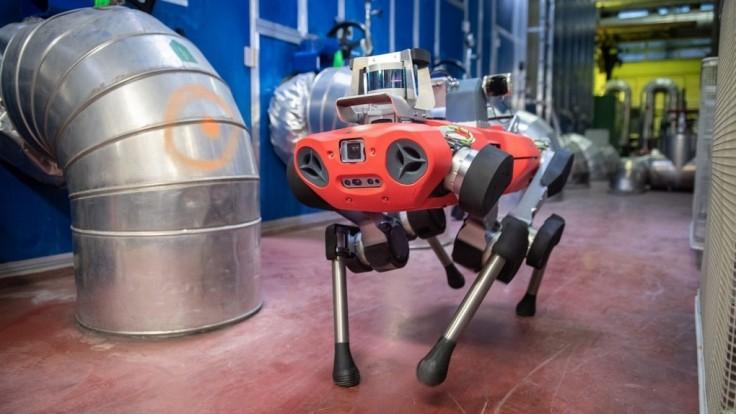 ANYmal C kráča smerom k robotickej priemyselnej inšpekcii