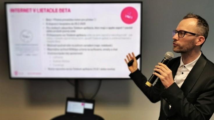 Slovak Telekom prináša novú službu Internet v lietadle Beta