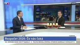HOSŤ V ŠTÚDIU: L. Kamenický o rozpočte na budúci rok