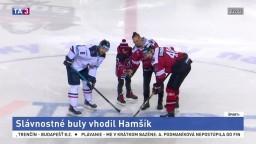 Hamšík na ľade. Futbalová hviezda otvorila mikulášsky zápas