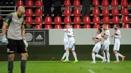 Ružomberskí futbalisti úspešne remizovali so Zlatými Moravcami