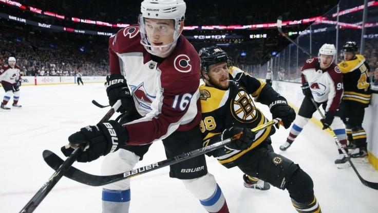 NHL: Ani Halák nepomohol, sériu Bostonu prerušilo Colorado