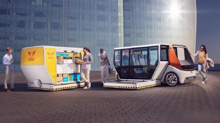 Modulárne vozidlo MetroSnap môže byť poštou alebo obchodom