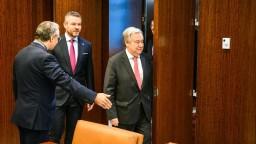 Premiéra prijal tajomník OSN, hlavnou témou bola ochrana klímy