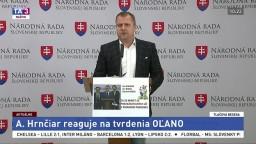 TB A. Hrnčiara ako reakcia na tvrdenia hnutia OĽANO