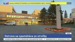 Ostrava sa spamätáva zo streľby, ľudia si pripomínajú obete