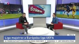 ŠTÚDIO TA3: Bývalý futbalista Ľ. Michalík o európskych pohároch