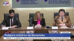 TB G. Matečnej a M. Rusnáka o podpore včelárov na Slovensku