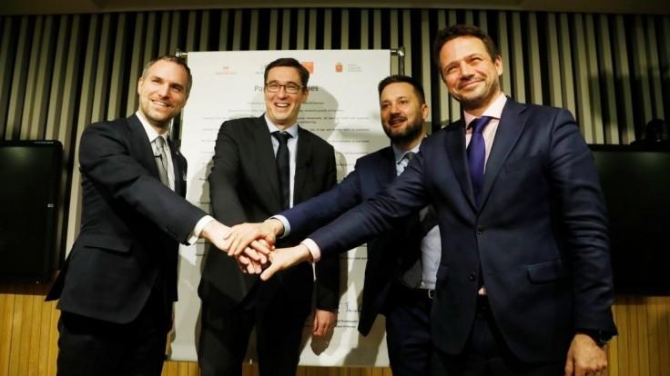Vallo a primátori Budapešti, Prahy i Varšavy podpísali dohodu