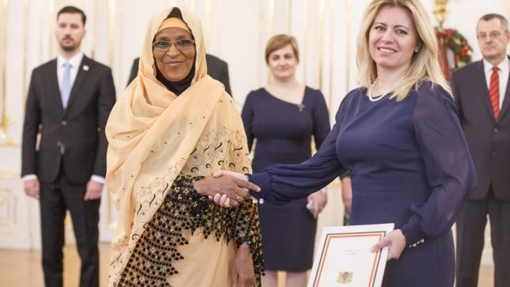 Fotogaléria: Prezidentka prijala veľvyslancov, odovzdali listiny
