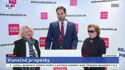TB starostu MČ Bratislava-Nové Mesto R. Kusého o vianočných príspevkoch