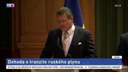 Moskva a Kyjev sa dohodli na tranzite plynu do EÚ cez Ukrajinu