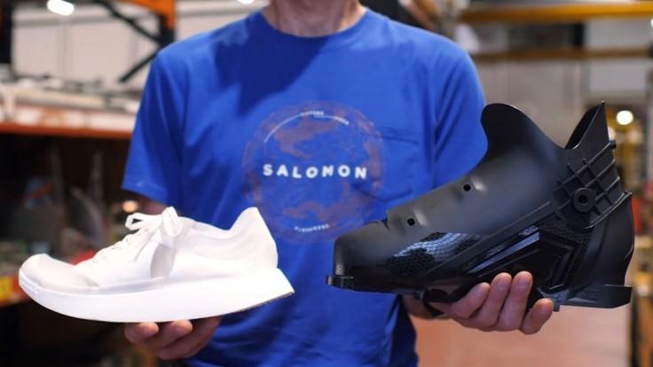 Bežecká obuv Salomon sa dá recyklovať pre výrobu lyžiarskych topánok