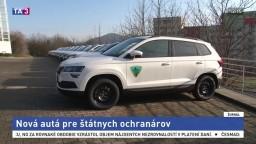 Ochranári dostali po rokoch nové autá, stáli viac než 640-tisíc eur