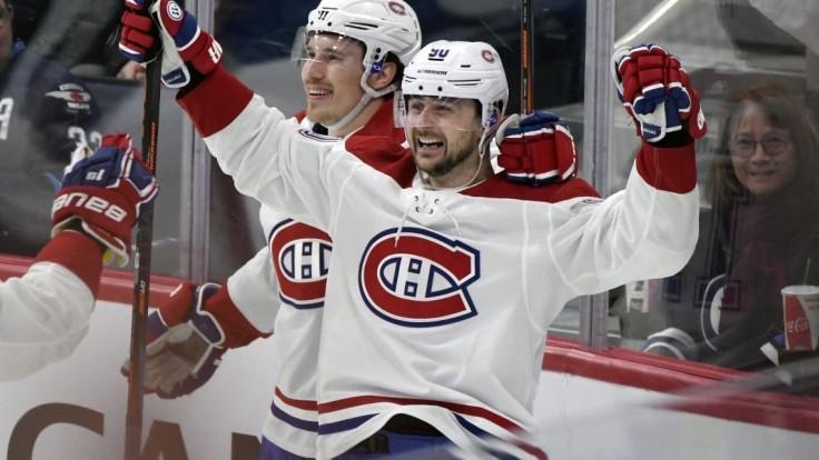 NHL: Tatar pomohol Montrealu k triumfu, Winnipegu dal dva góly