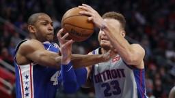 NBA: Piata prehra Detroitu za sebou, Philadelphii pomohol Harris