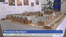 Perníková kópia námestia v Bardejove očarila malých aj veľkých