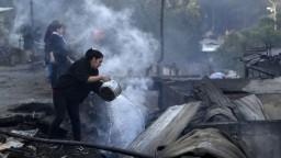 Čile bojuje s lesnými požiarmi, pravdepodobne vznikli úmyselne