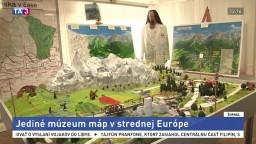 V obci je jediné múzeum máp v strednej Európe, ponúka skvelé zážitky
