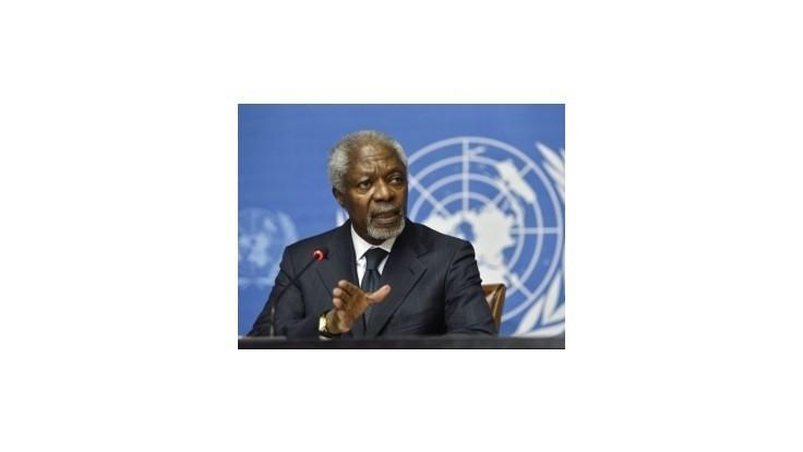 Kofi Annan odstúpil, vinu na seba hádže Západ s Východom
