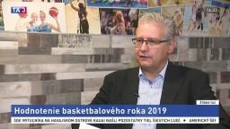ŠTÚDIO TA3: Prezident SBA M. Drgoň o slovenskom basketbale
