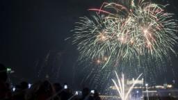 Oslávili sme Nový rok. Takto to vyzeralo v Bratislave a Košiciach