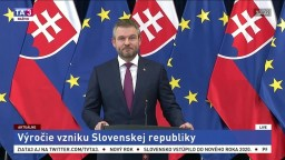 Vyhlásenie premiéra P. Pellegriniho k výročiu vzniku Slovenskej republiky
