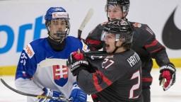 Slováci sa lúčia so šampionátom, Kanada im nedala šancu