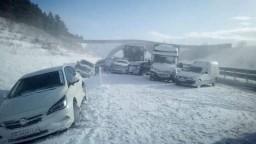 Na D1 bola hromadná nehoda. Zrazili sa autá, dodávky i autobus
