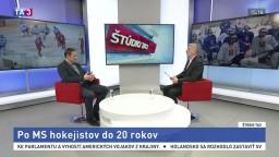 ŠTÚDIO TA3: Ľ. Pokovič o MS hokejistov do 20 rokov