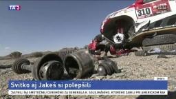 Naši motocyklisti si polepšili v druhej etape Rely Dakar