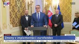 TB R. Rašiho, J. Viskupiča, R. Rybníčka a B. Trégera o zmenách v eurofondoch