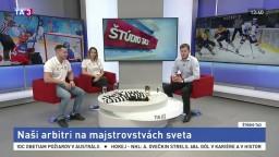 ŠTÚDIO TA3: Arbitri M. Čerhitová a Š. Synek o majstrovstvách