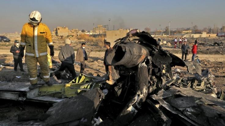 Nepožiadali o pomoc, tvrdí Irán o posádke ukrajinského lietadla