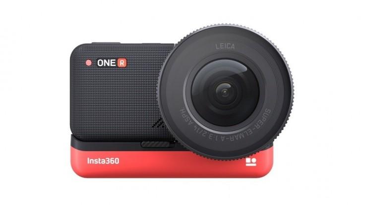 Modulárna kamera Insta360 One R mení pohľad na tvorbu akčných videí